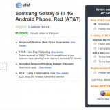 Samsung Galaxy S3 disponible en Amazon por solo $99 dolares