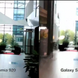 Comparación Nokia Lumia 920 vs HTC One X y Galaxy S III filmacion de Video