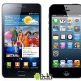 iPhone 5 vs Samsung Galaxy S2