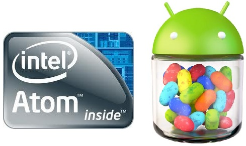 COME WITH ANDROID SMARTPHONES INTEL ATOM 4.1 JELLY BEAN
