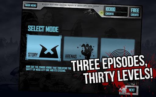 Judge Dredd vs Zombies Captura 5