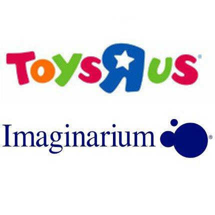 Logo toysrus y imaginarium