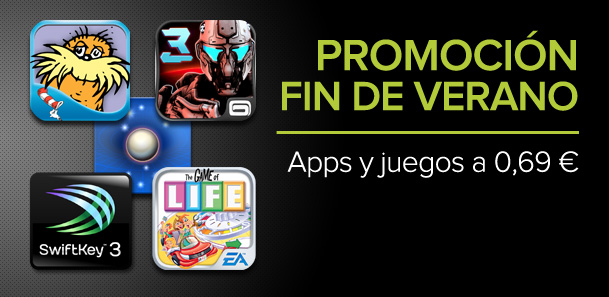 Promoción fin de verano en Google Play