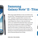 EE.UU: Samsung Galaxy Note II disponible en Pre-Orden con US Cellular