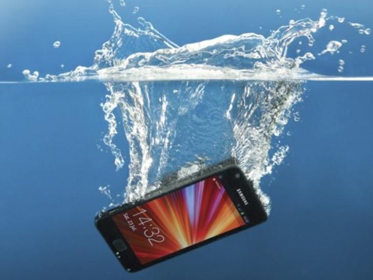Samsung al agua