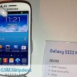 Imagen filtrada del Samsung Galaxy S3 Mini