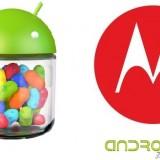 ¿Qué dispositivos Motorola se actualizarán a Android 4.1 Jelly Bean?