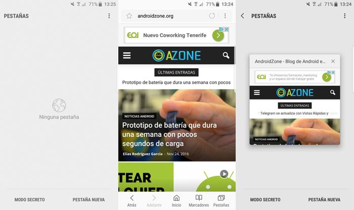 Navegadores Web Android Navegador AOSP