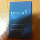 Filtradas fotografías del manual de instrucciones del Nexus 10 y vemos su fabricante y algunas especificaciones