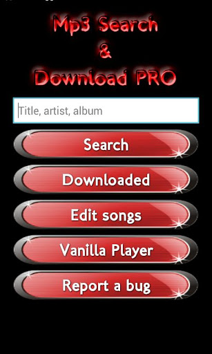 Busca y descarga Mp3 Pro