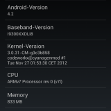 ROM CyanogenMod 10.1 (Android 4.2) para Samsung Galaxy S3