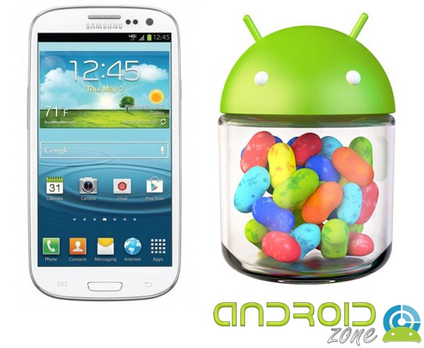 Galaxy S3 Jelly Bean