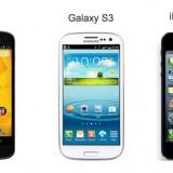 Galaxy S3 vs iPhone 5 vs Nexus 4