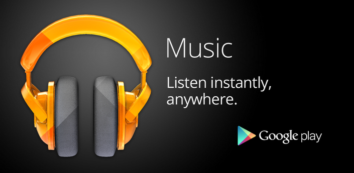 Google Play Music Reproductores de música para Android