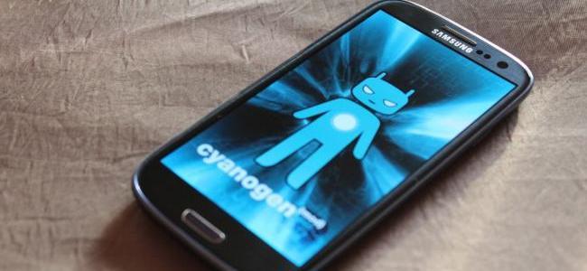 CyanogenMod Galaxy S3
