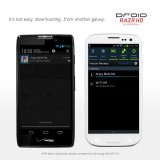 Droid RAZR HD vs Galaxy S3-2