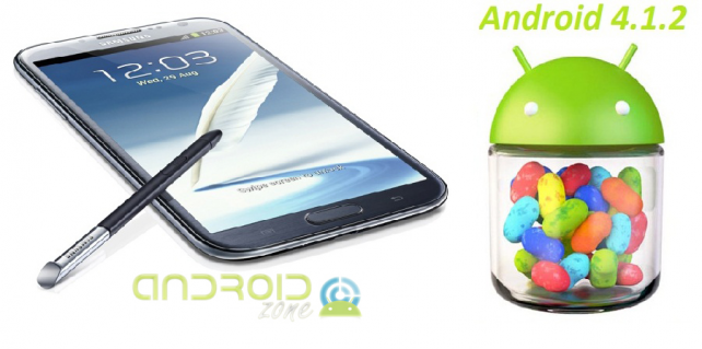 Actualizar Galaxy Note 2 Android 4.1.2 Jelly Bean
