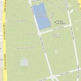 Google Maps Parque del Retiro