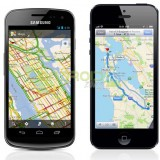 Google Maps vs Apple Maps AZ