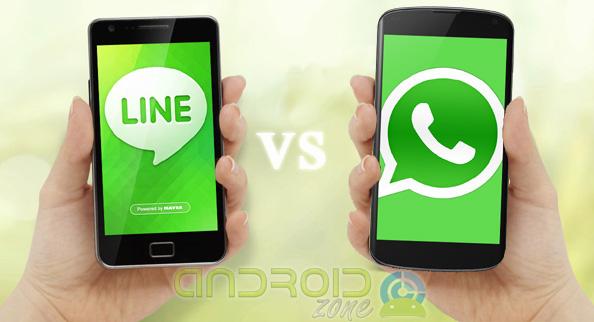 LINE-vs-WhatsApp AZ