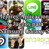 Las Mejores Aplicaciones y Juegos para el Samsung Galaxy S3