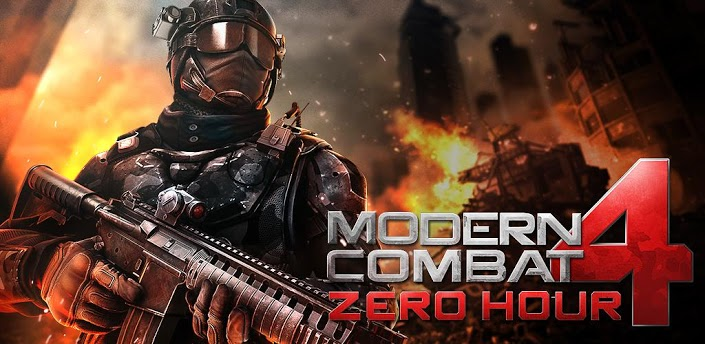 Modern Combat 4 Zero Hour Llego A Google Play Android Zone