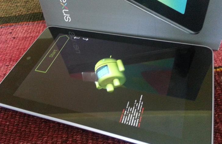 Nexus 7 Fastboot