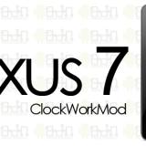 Nexus 7 Root & ClockWorkMod ANDROIDADN LOGO