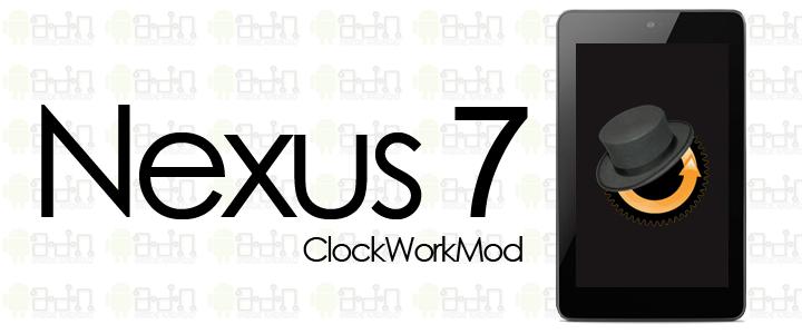 Nexus 7: Unlock Bootloader Root y ClockworkMod (Android 4 2 2)