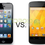 iPhone 5 vs Nexus 4 AZ