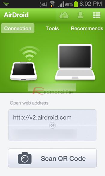AirDroid 2 Beta