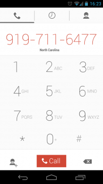 Android 5.0 Key Lime Pie UI
