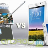 Samsung Galaxy Note 2 vs Huawei Ascend Mate