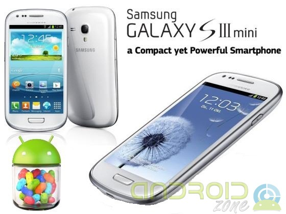 Galaxy S3 Mini Android 4.1.2 AndroidZone