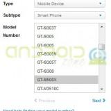 Galaxy S4 GT-i9500X-AZ