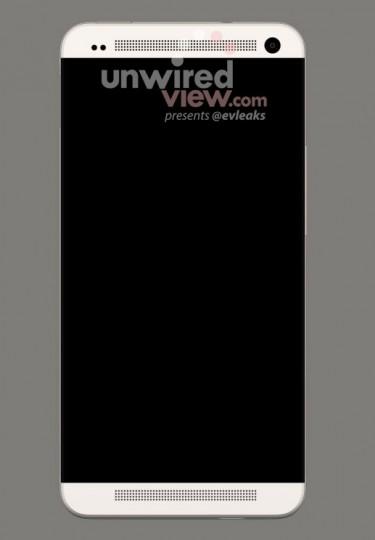 HTC M7 Render