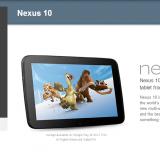 Nexus 10 Google PLAY USA