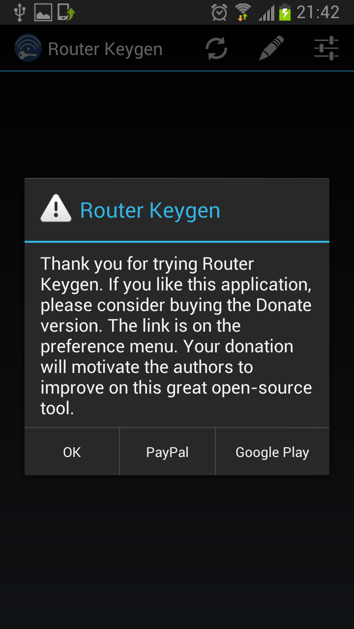 Router Keygen 3.2 Installed