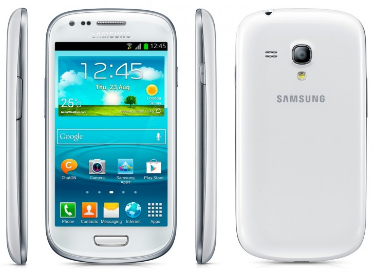 Samsung Galaxy S3 Mini Design