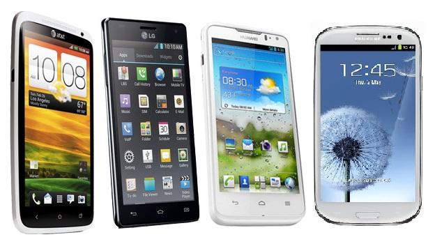 Smartphones Quad-Core
