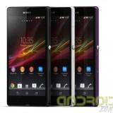 Descarga el fondo de pantalla y los sonido del Sony Xperia Z