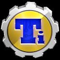 Titanium backup root logo