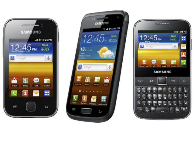 smartphones samsung-