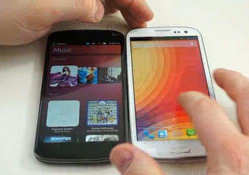Android Jelly Bean vs Ubuntu Phone