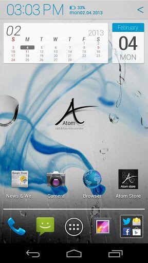 Atom Launcher-3