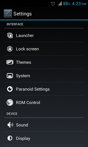 Galaxy Ace Android 4.1.2-2 Jelly Bean