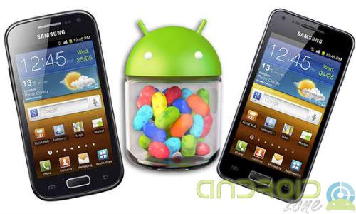 Galaxy S Advance Jelly Bean-2AZ