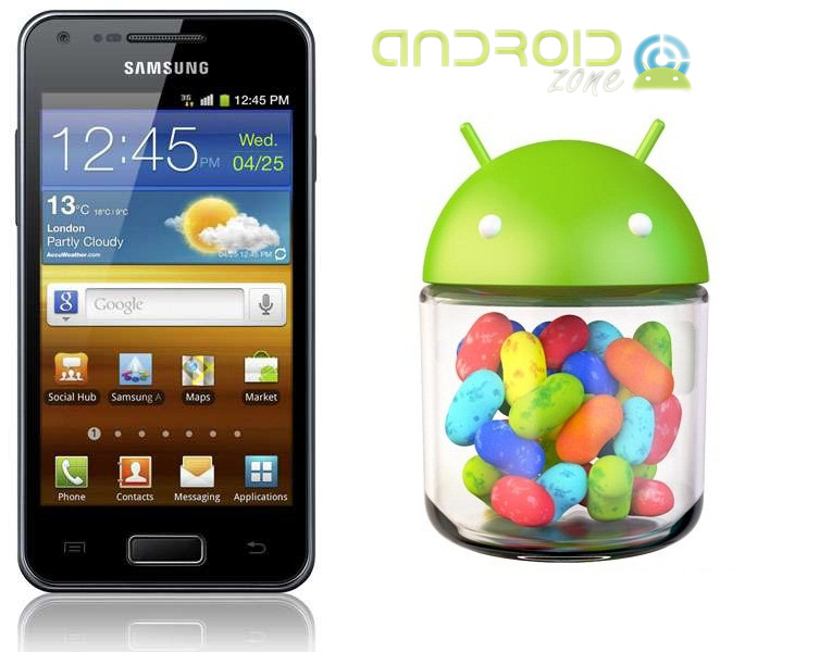 Actualizar Samsung Galaxy S Advance