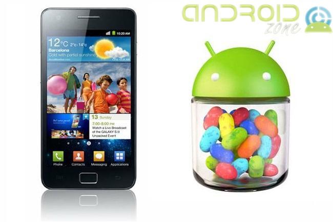 Galaxy S2 Android 4.1.2 Jelly Bean AZ