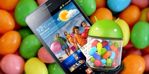 Galaxy S2 Android-OS Jelly Bean